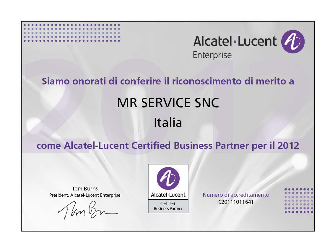 Business Partner Alcatel-Lucent
