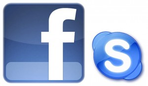 facebook e skype in un software