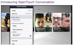 Opentouch for iPad